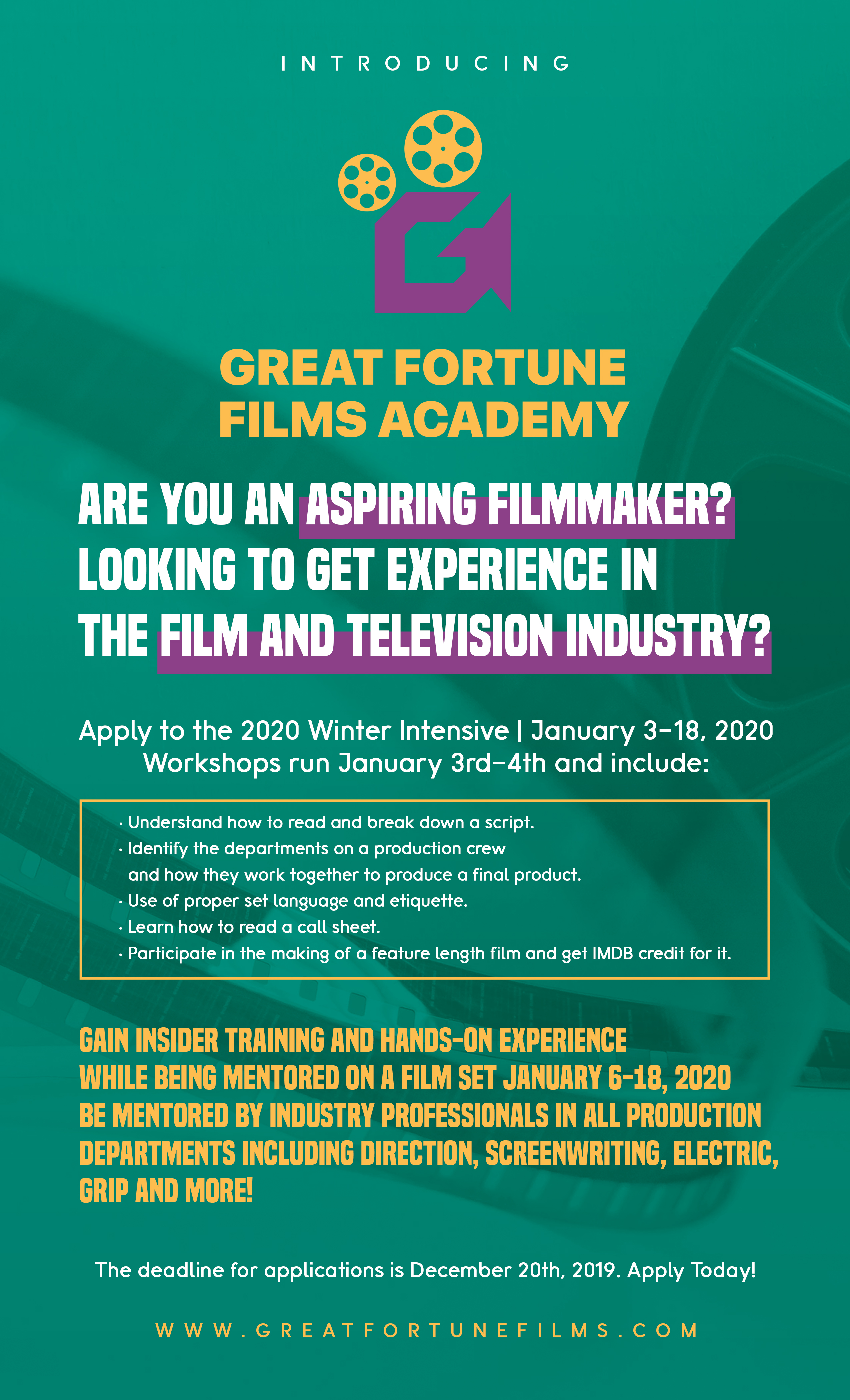 Great Fortune Films Academy